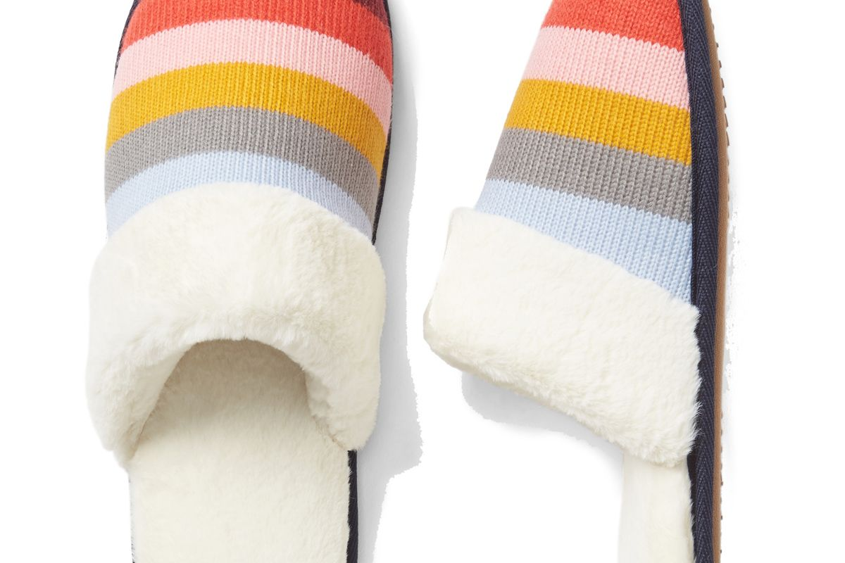 Crazy Stripe Slipper