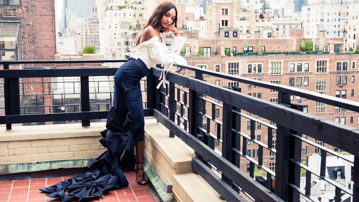 Jourdan Dunn Helped Design Her Met Gala Dress
