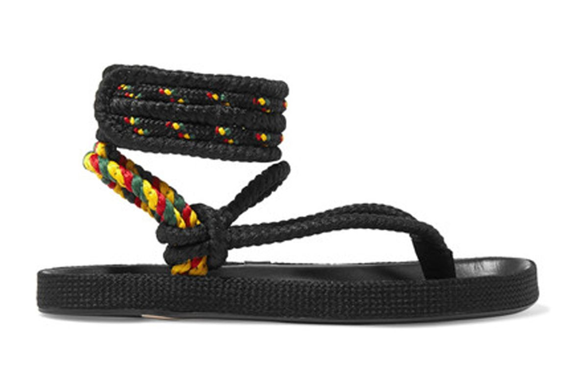 Étoile Epipa Rope and Leather Sandals