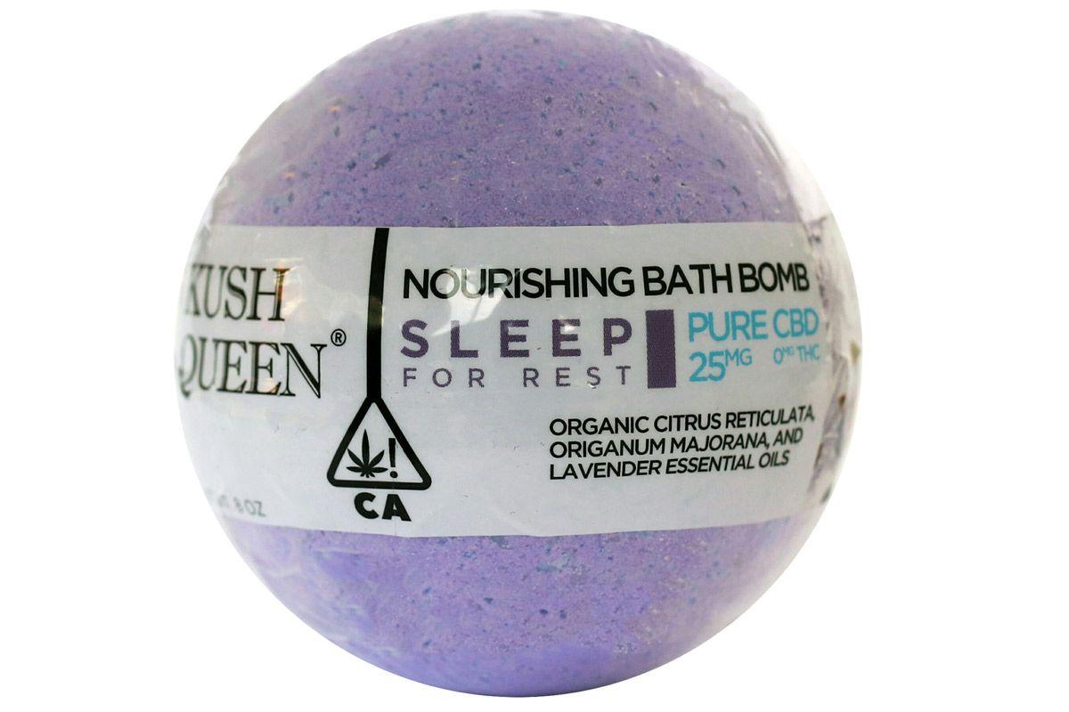 kush queen bath bomb