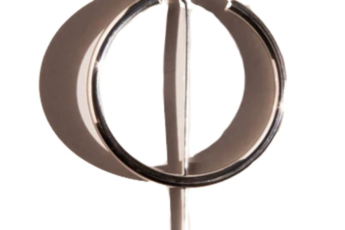 jaclyn moran hoop and post earring