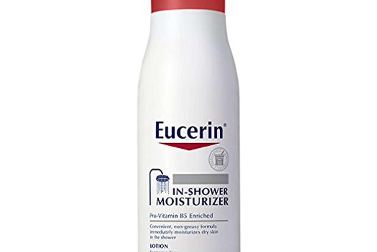 eucerin in shower body lotion