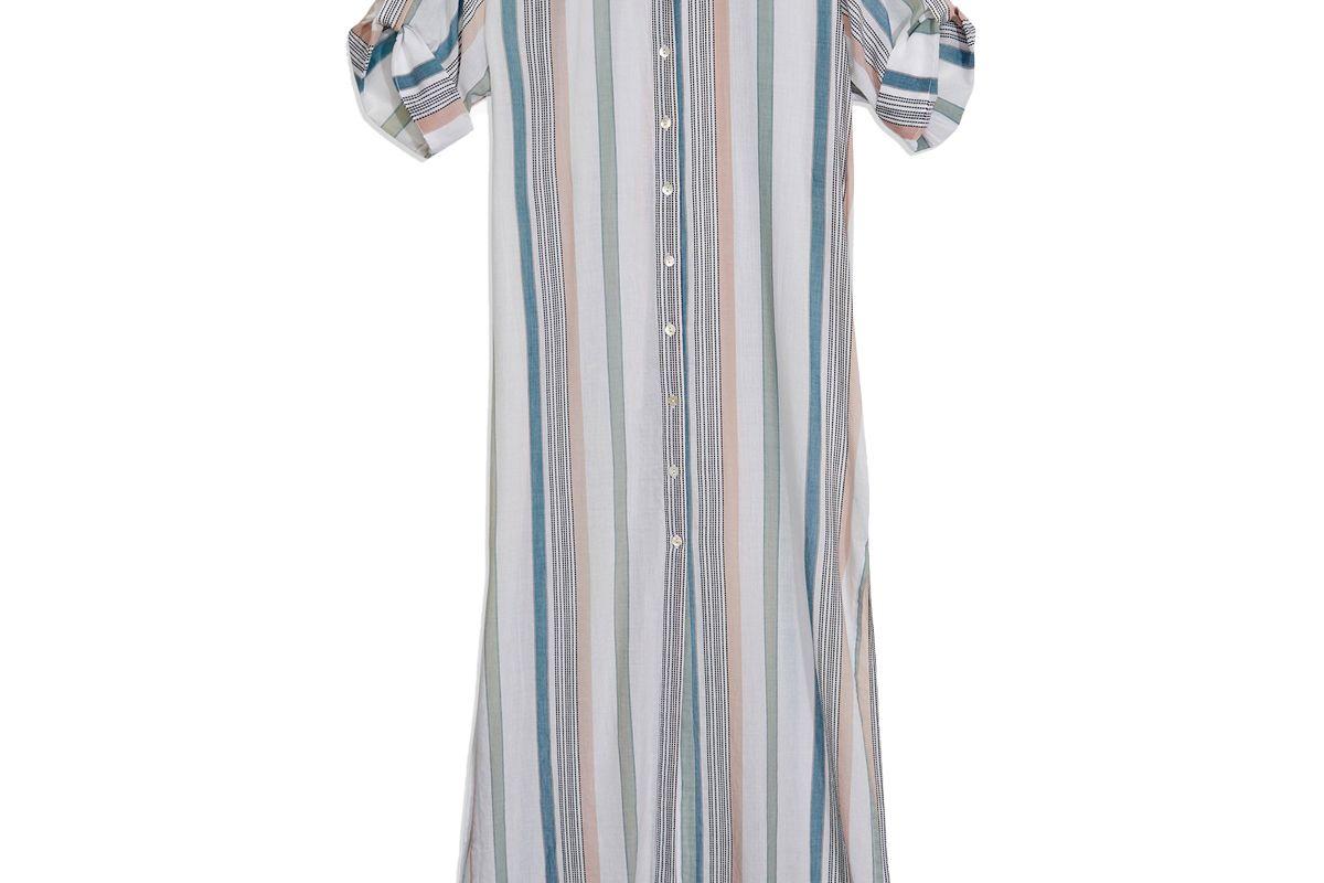 onia renee multi stripe dress