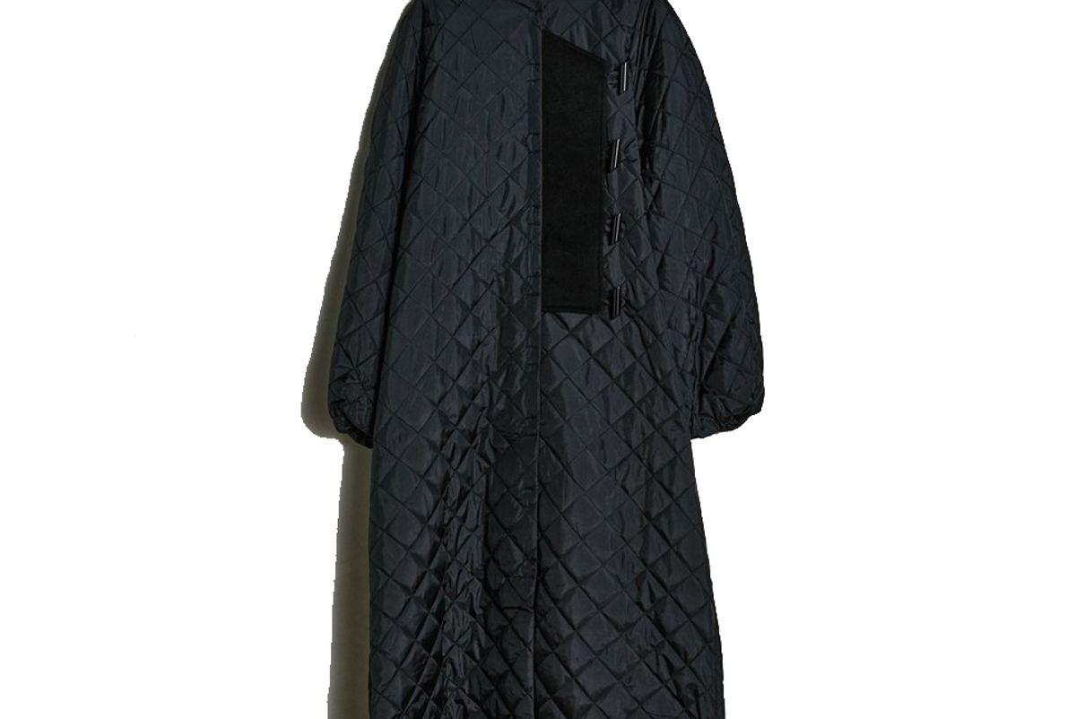 ganni ripstop quilt coat
