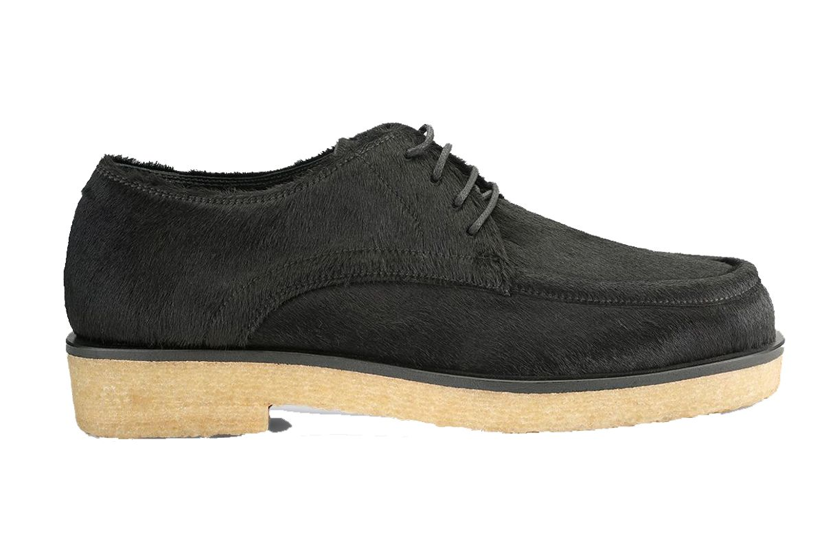 the row calf hide honore derby oxford