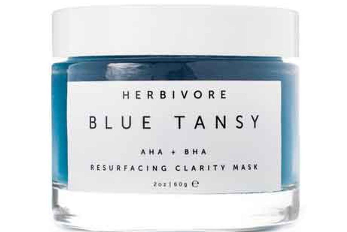 Blue Tansy AHA + BHA Resurfacing Clarity Mask