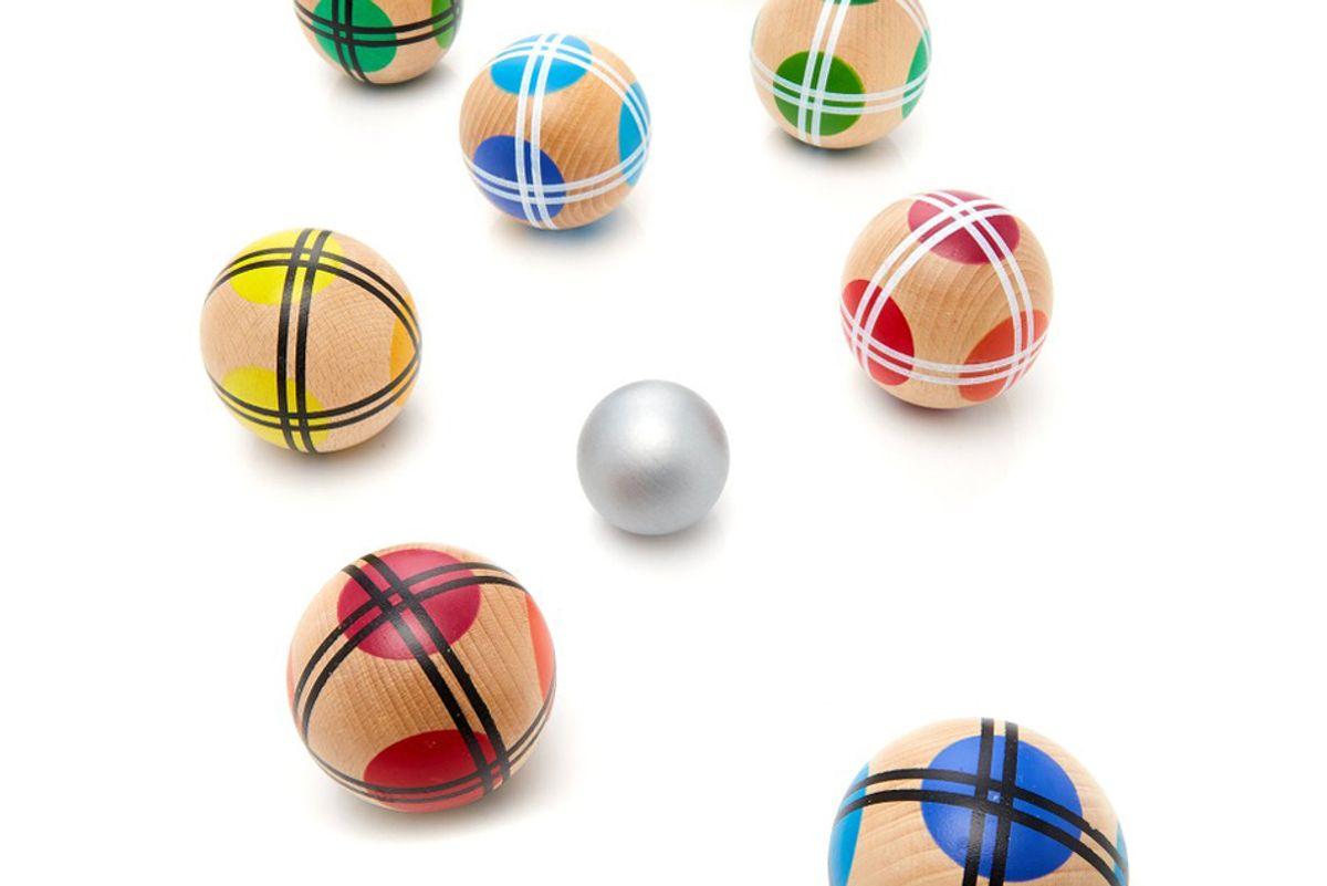 fredericks and mae bocce ball set