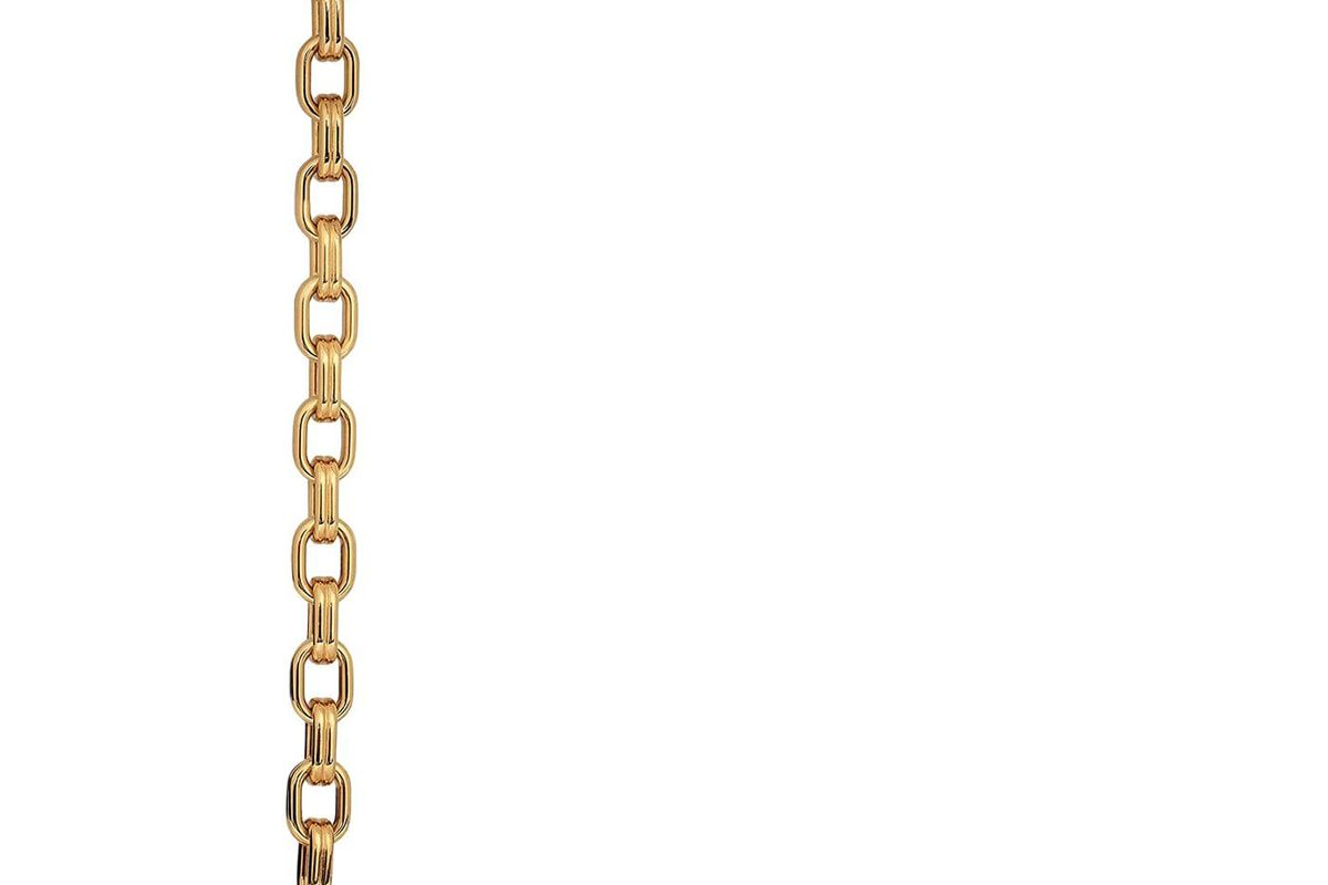 gucci textured marina chain belt