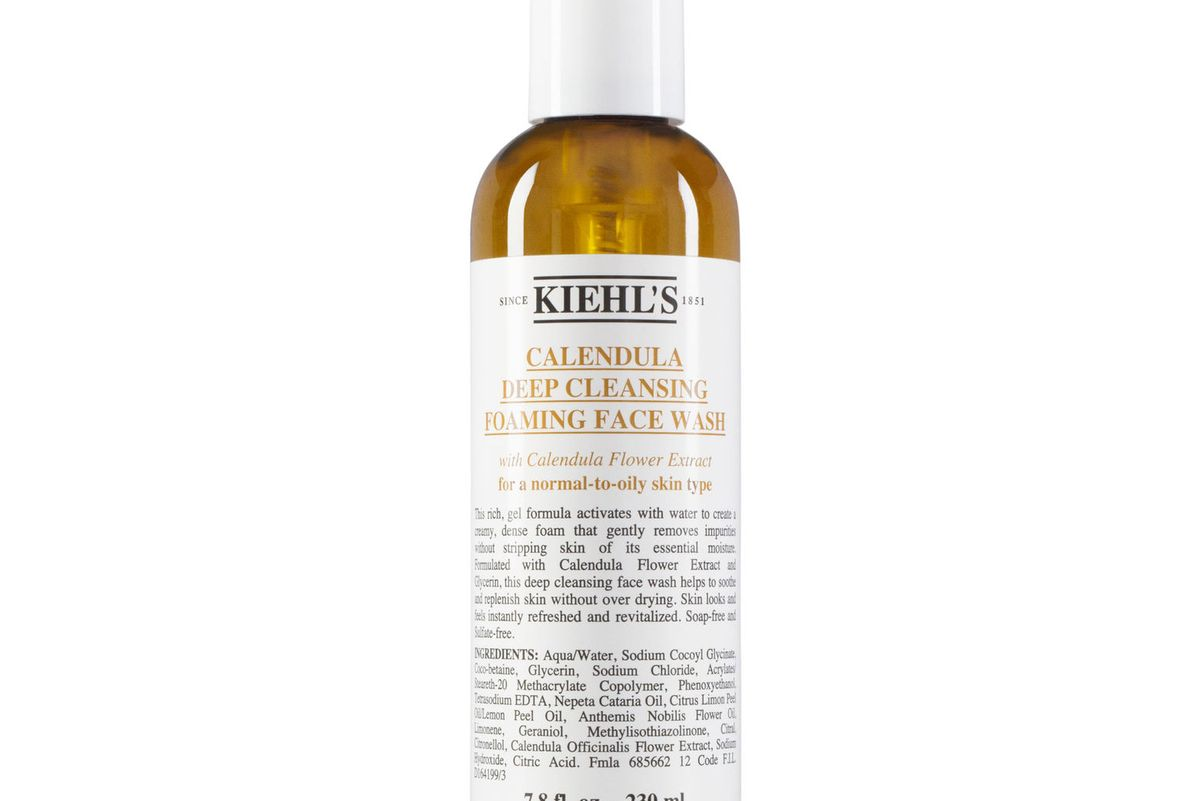 kiehls calendula deep cleaning face wash