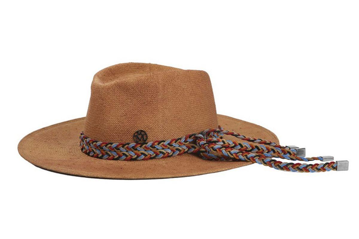 Pierre Braid Trim Hat