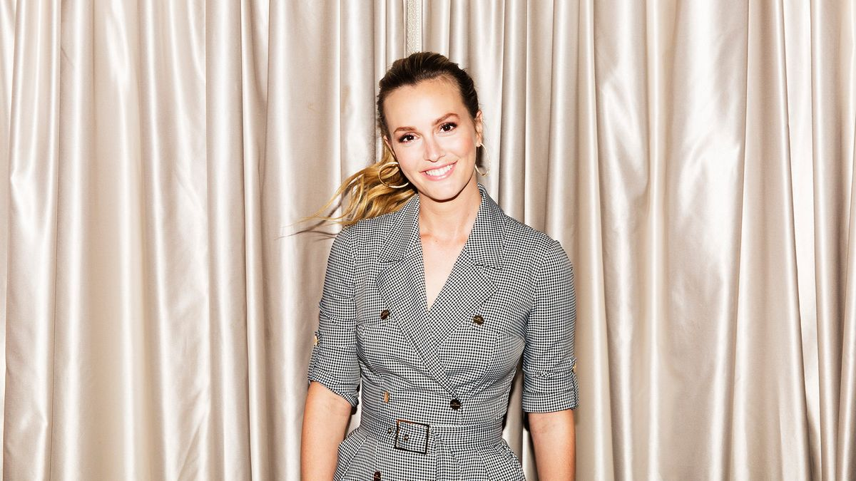 Leighton Meester Dreams About Giving Her Past Self a Pep Talk