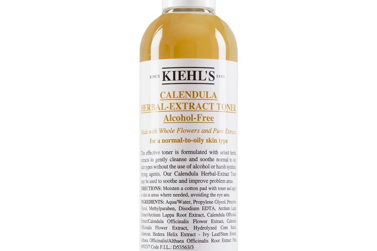 kiehls since 1851 calendula herbal extract alcohol free toner