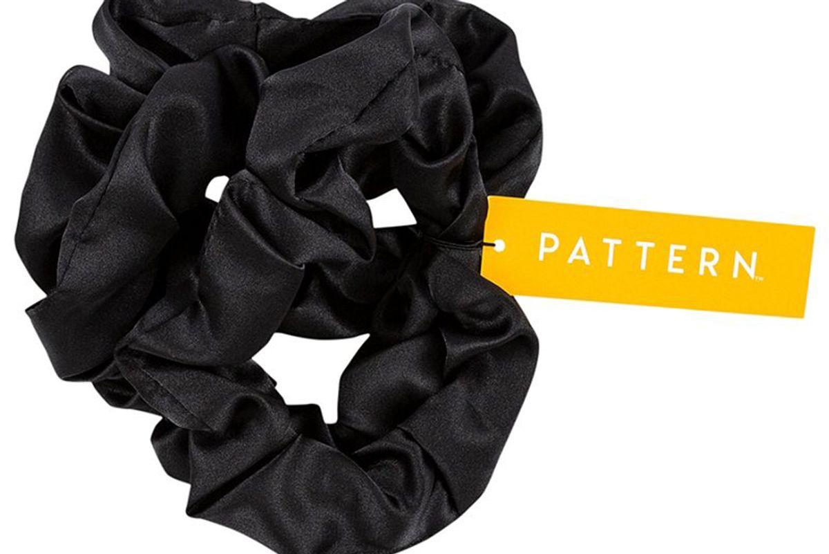 pattern satin scrunchies