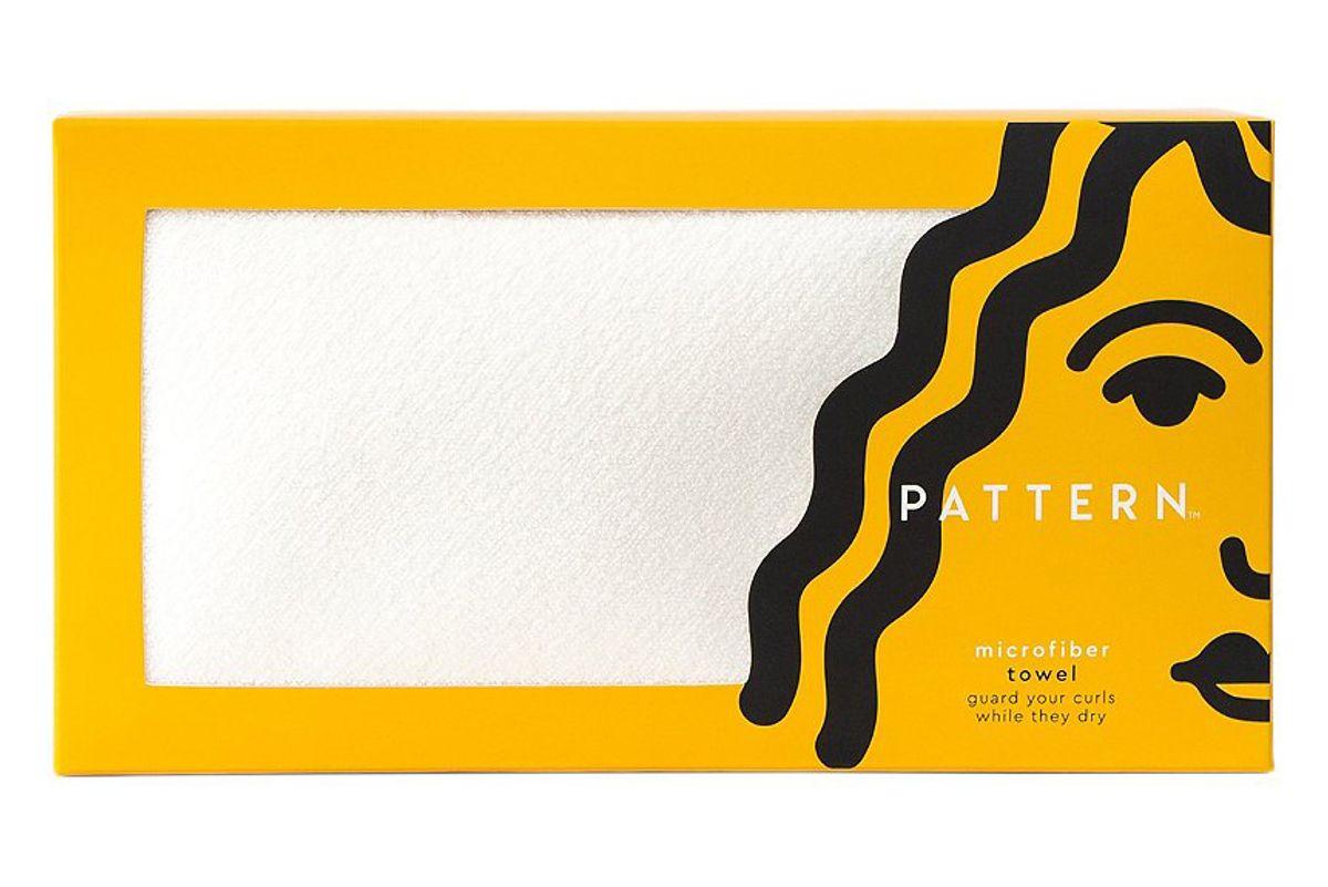 pattern microfiber towel