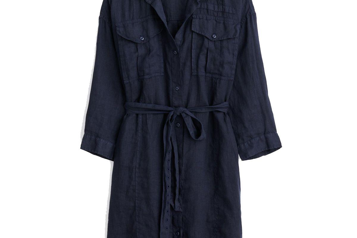 alex mill keeper shirtdress in linen
