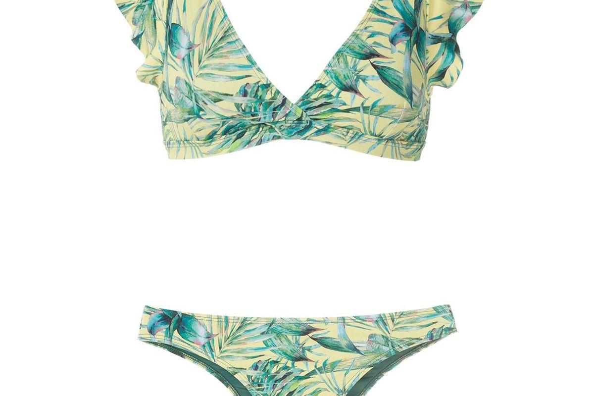 brigitte eva printed bikini set