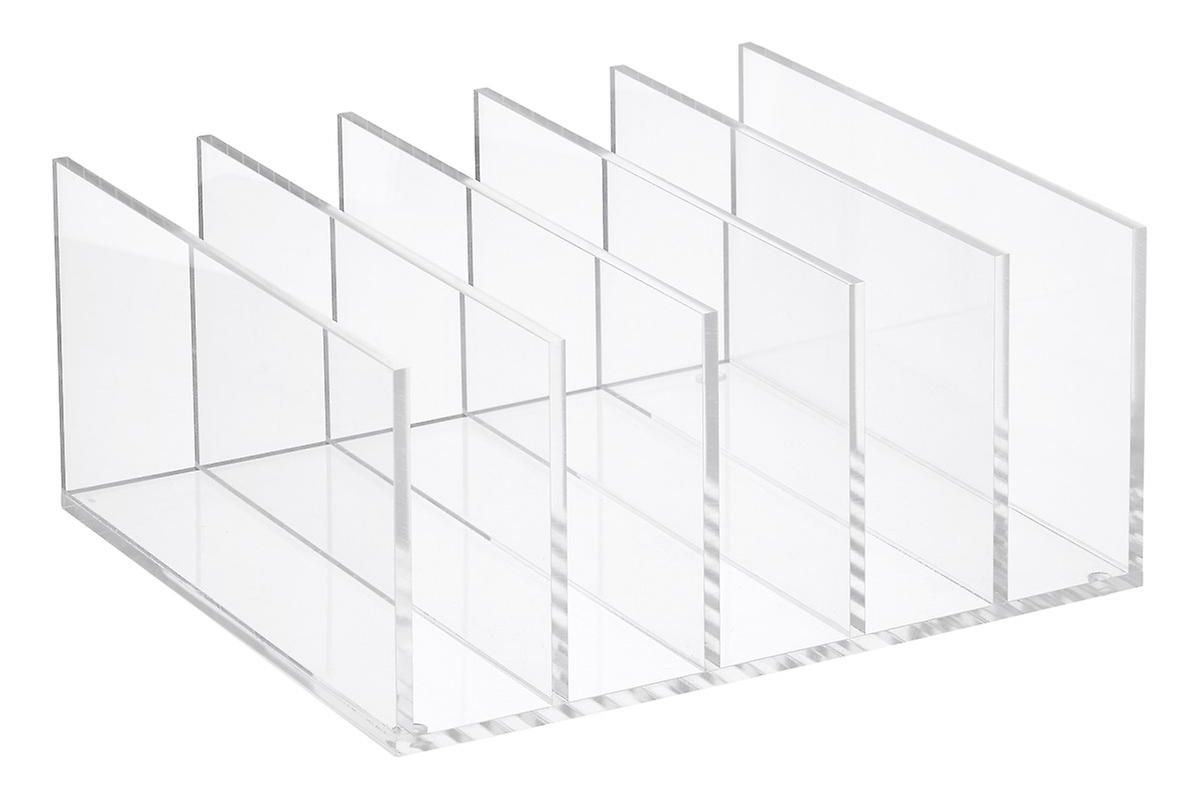 container store 5 section premium acrylic collator