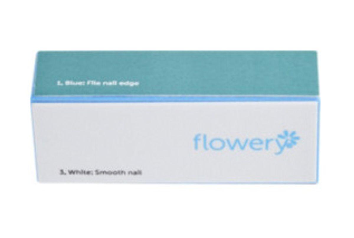 flowery blue max 4-way buffing block