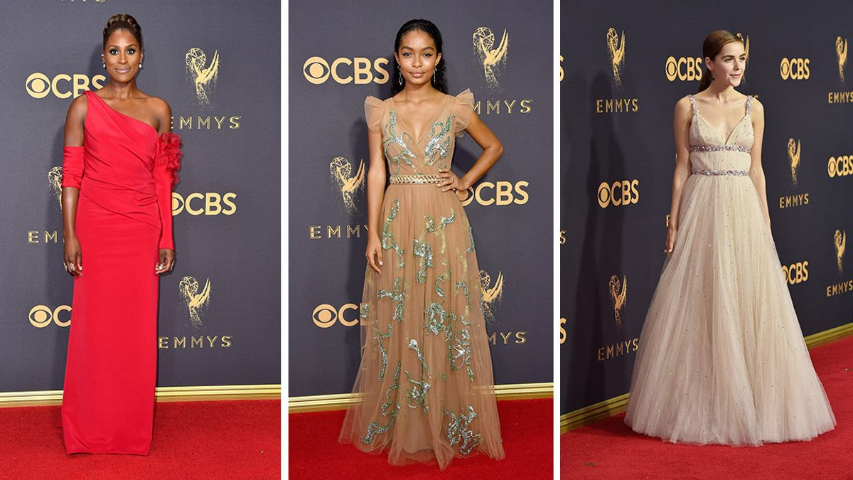 All The Best Looks From The 2017 Emmys Awards