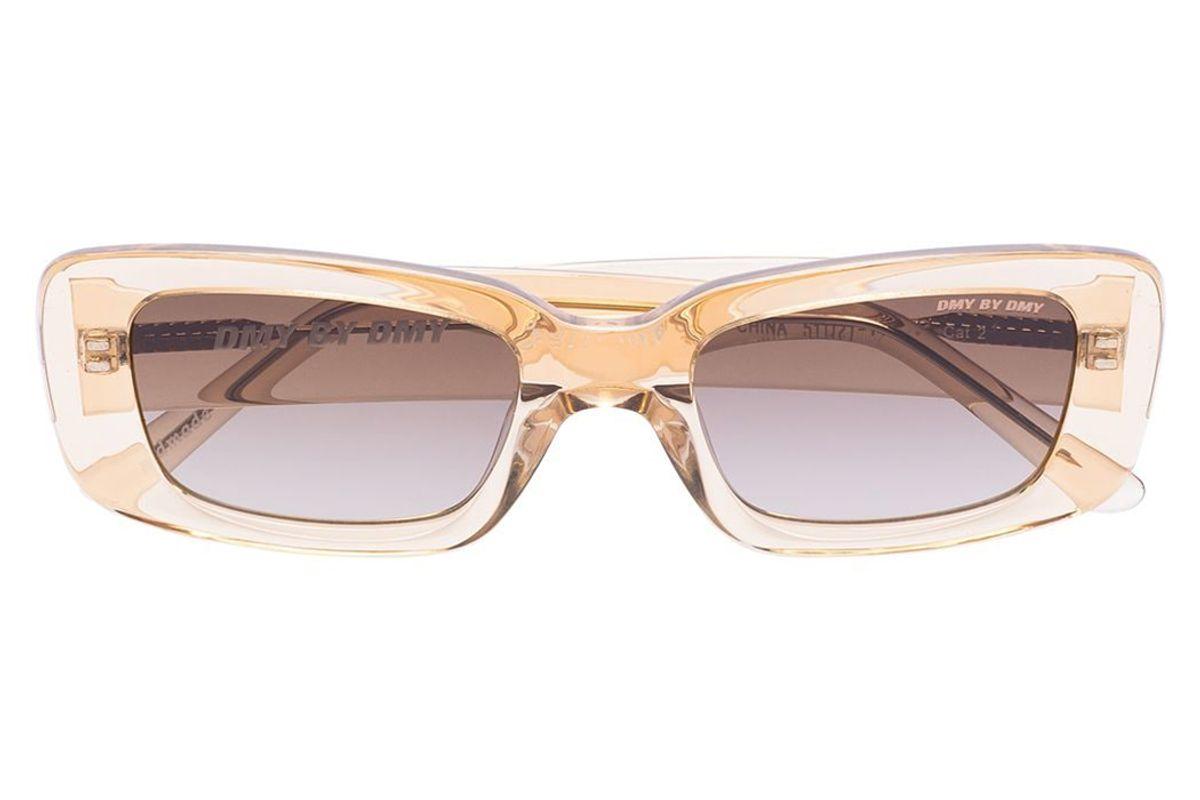 dmy by dmy preston rectangular sunglasses