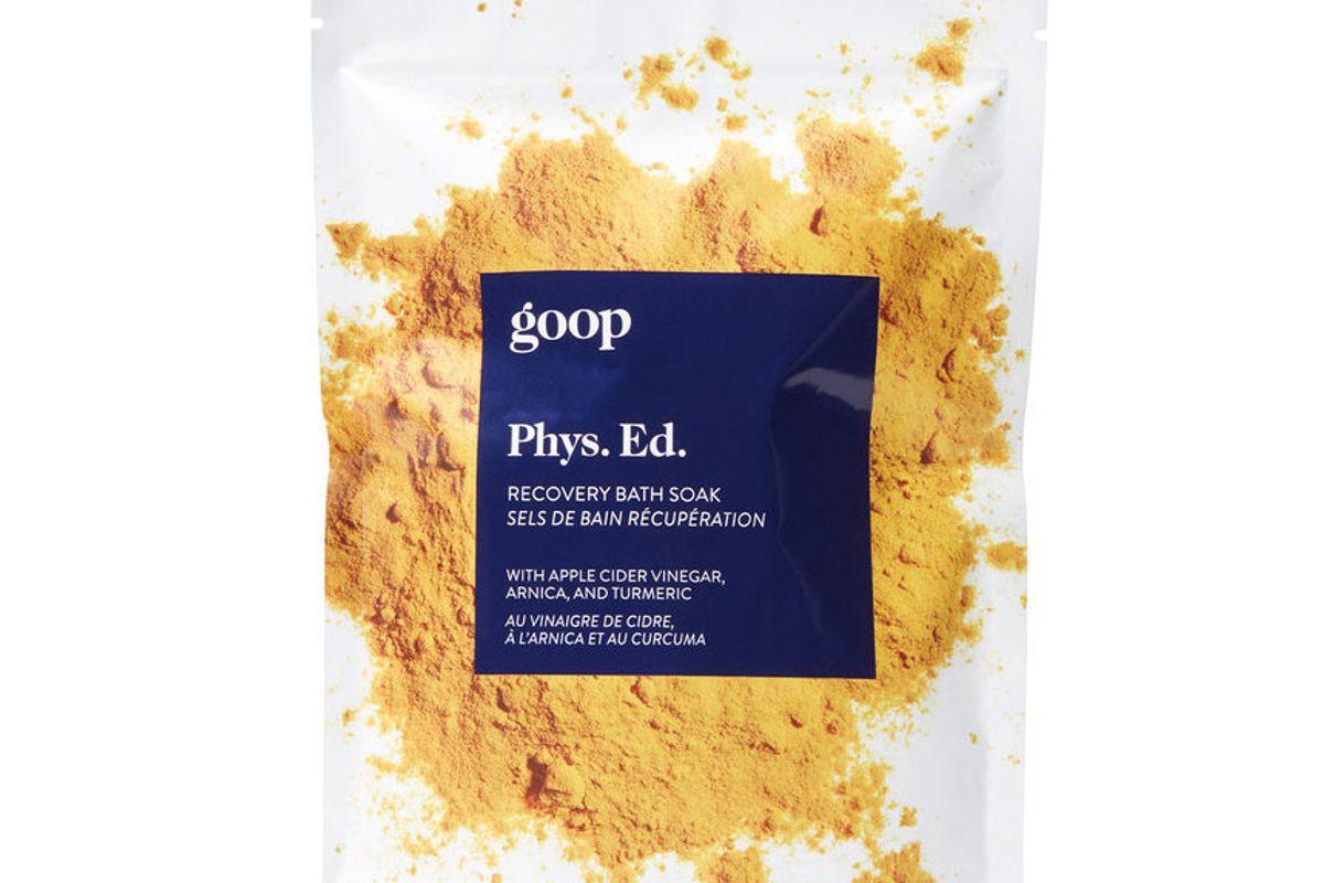 goop phys. ed. recovery bath soak