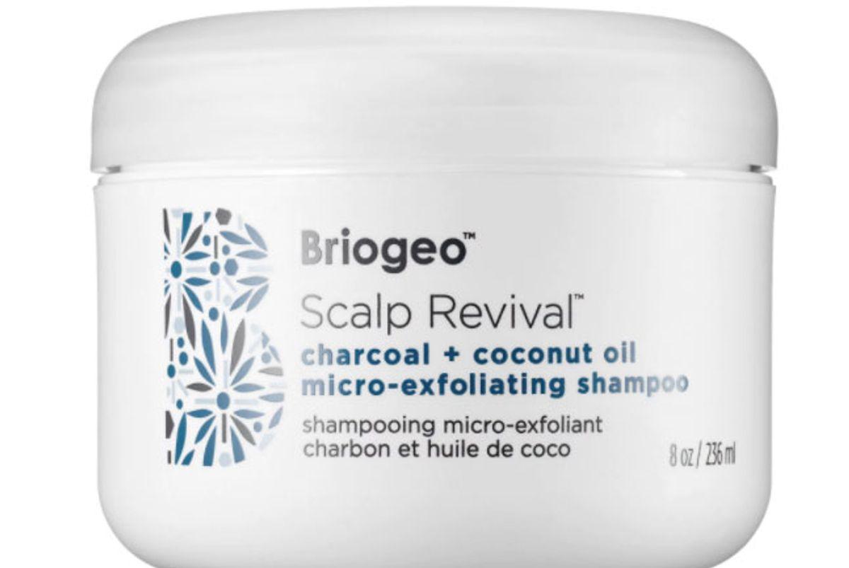 briogeo scalp revival charcoal and coconut oil micro-exfoliating shampoo
