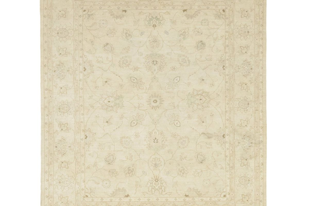 solo rugs oriental silky oushak hand knotted area rug