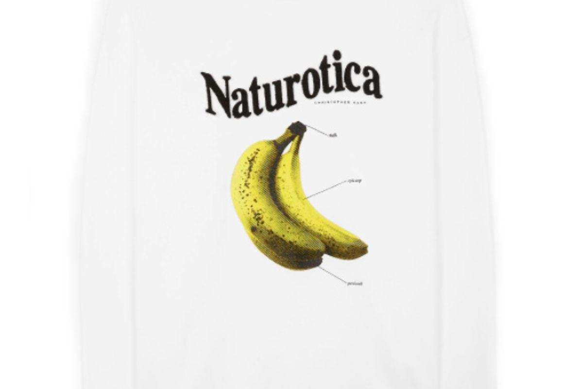 christopher kane banana sweatshirt