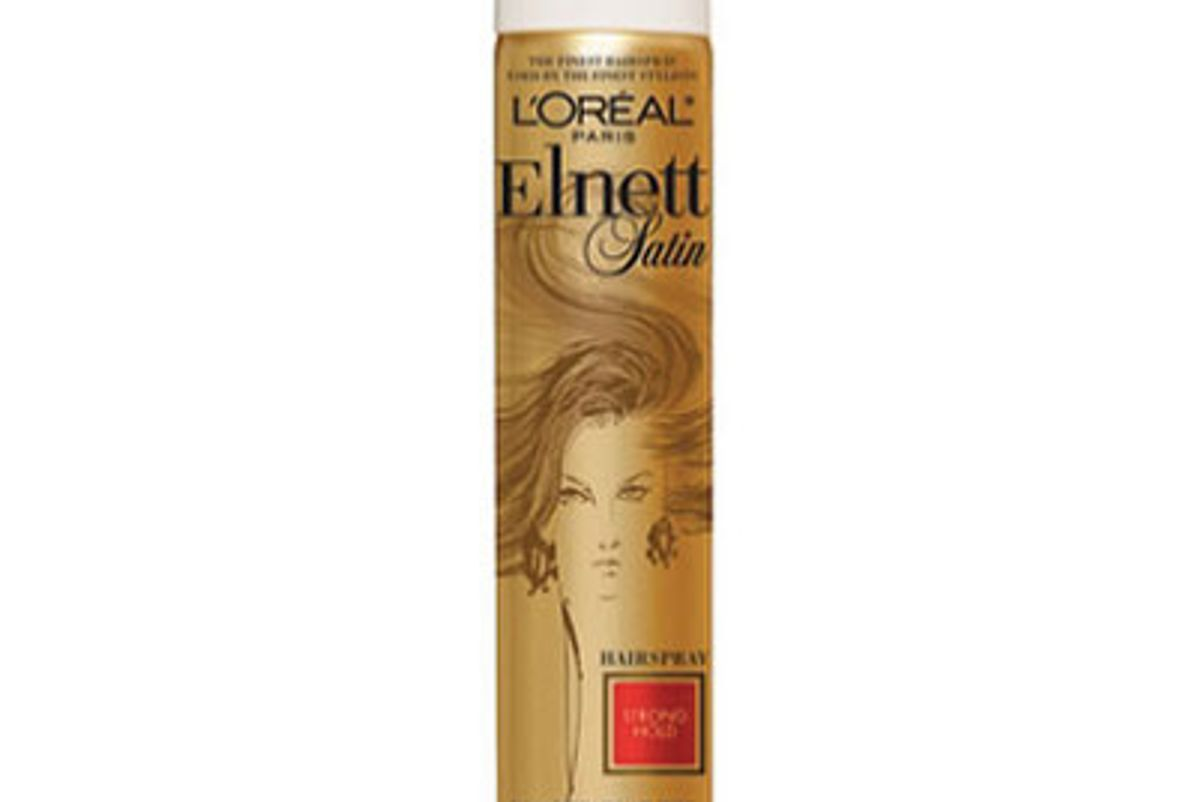 l'oreal elnett satin strong hold hairspray