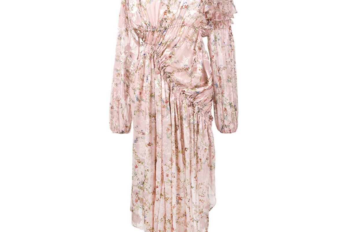 Eckhart Floral Print Dress