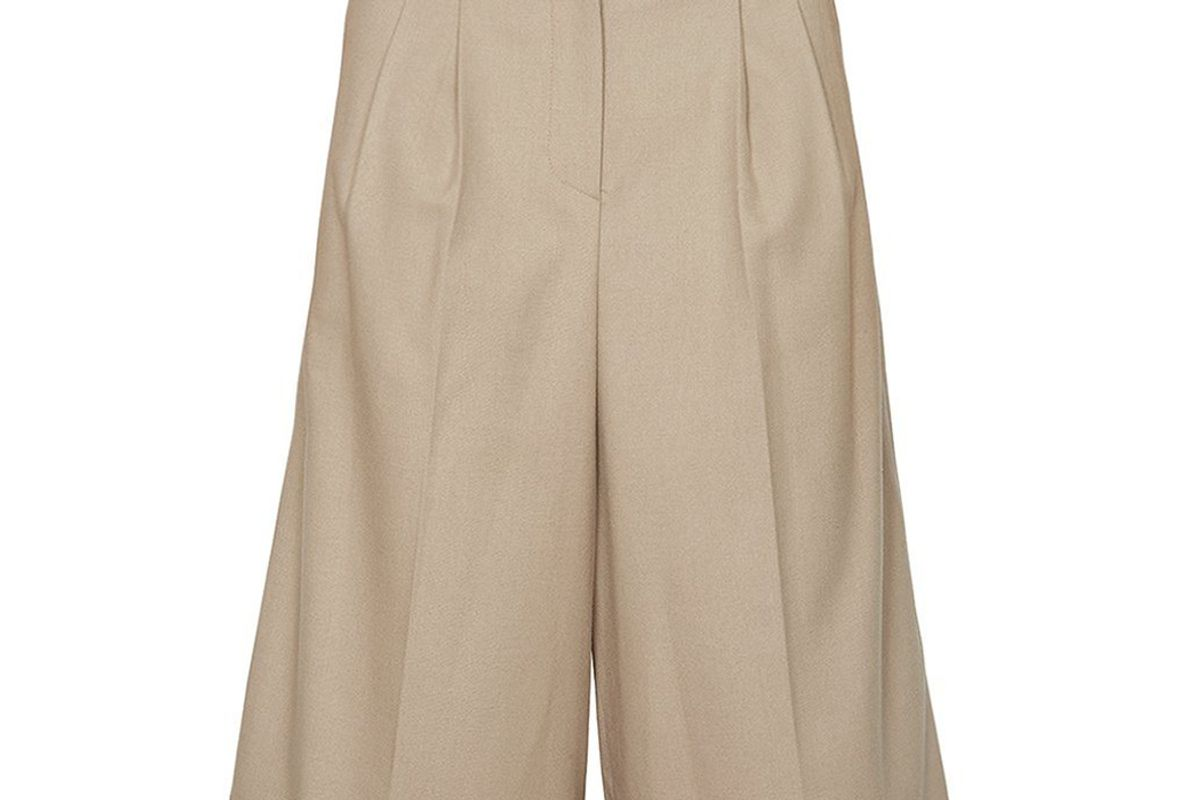 the frankie shop suzanne high trouser shorts