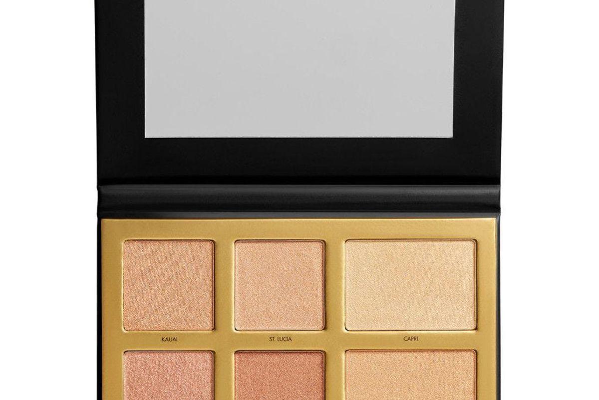 lorac lux diamond golden hour palette