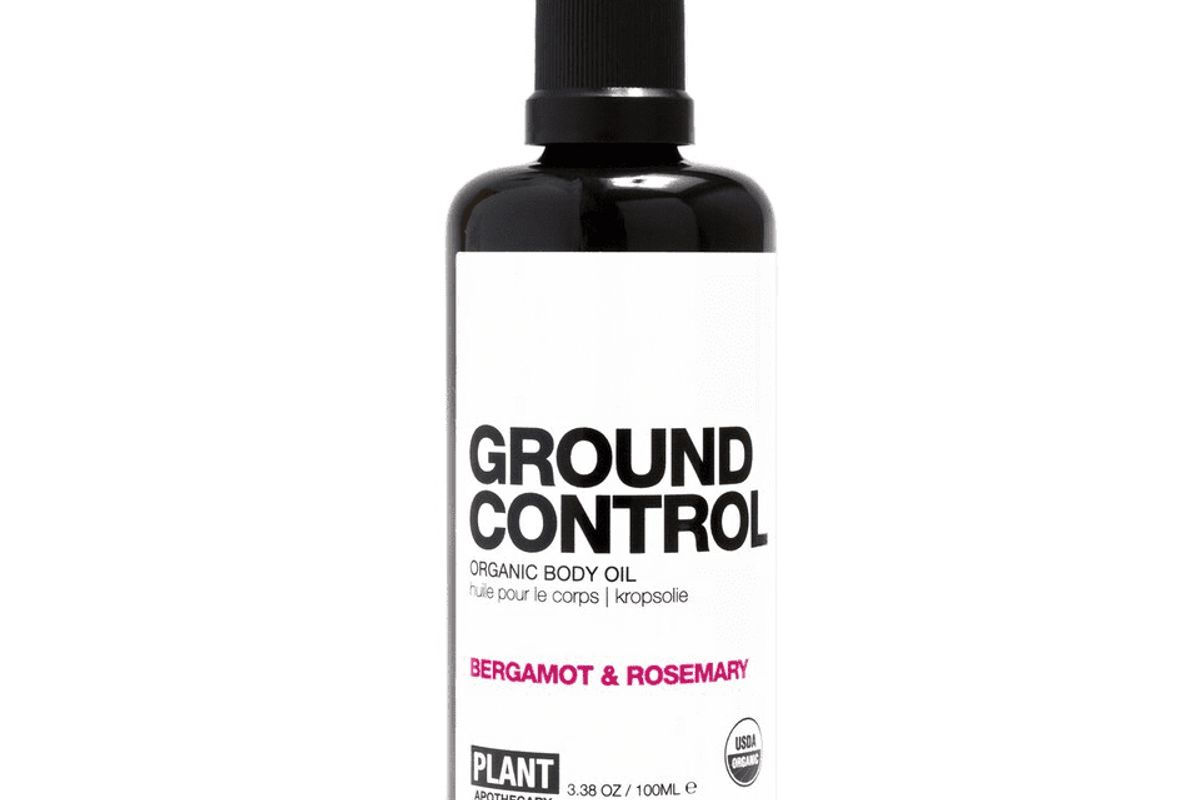 plant apothecary ground control certified organic body oil