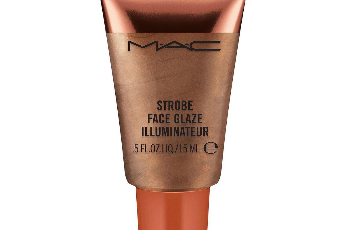 mac bronzejour strobe face glaze