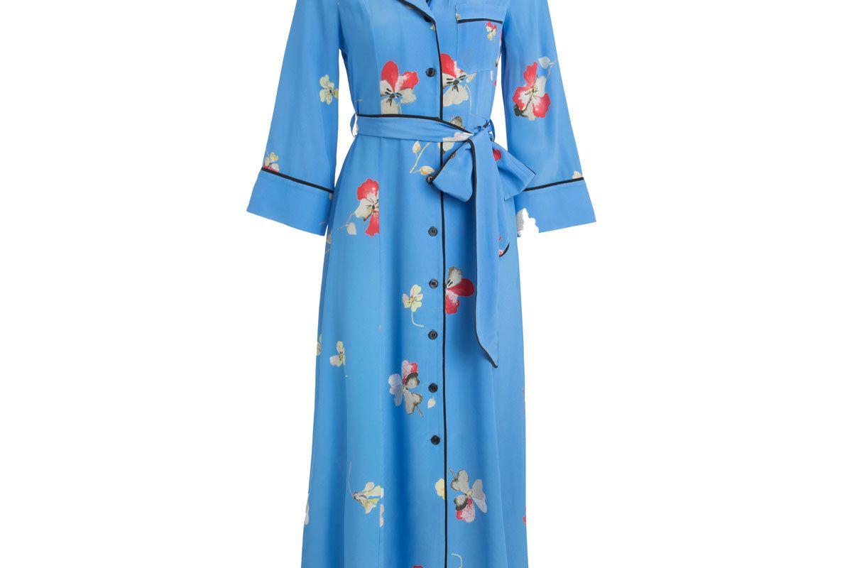 ganni joycedale shirt dress