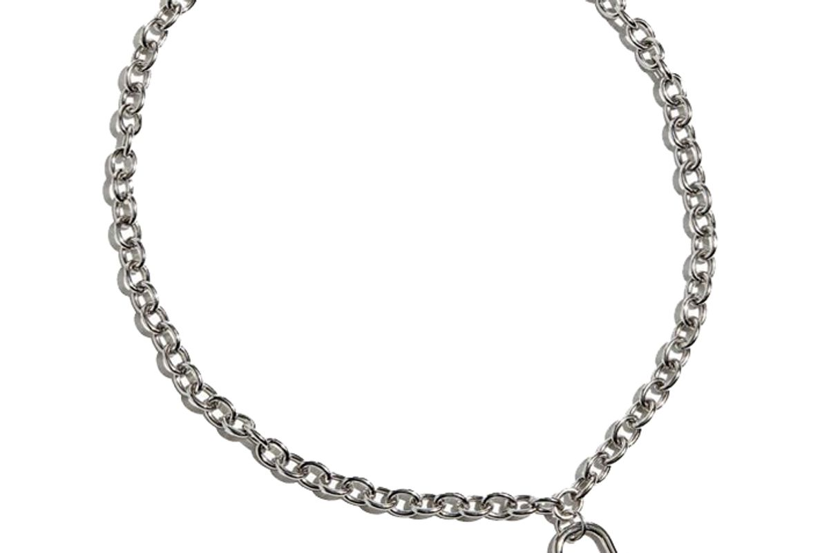 urban outfitters uo padlock chain necklace