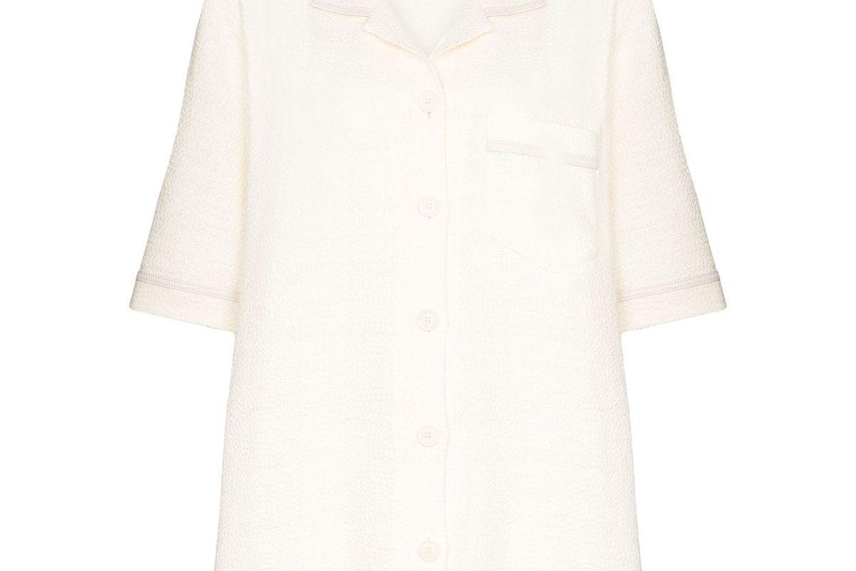 nanushka ella oversized shirt