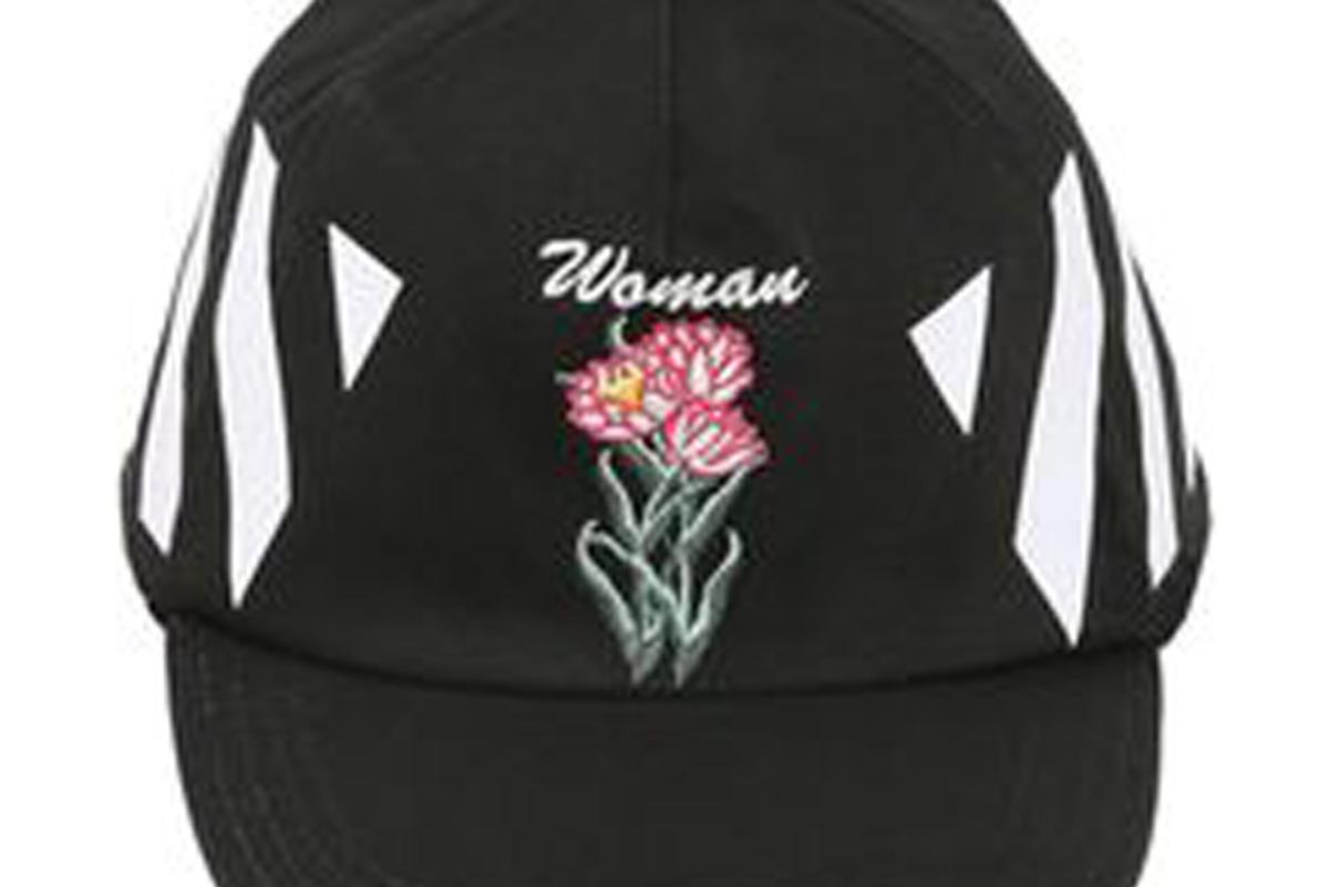 Black New Flower Cap