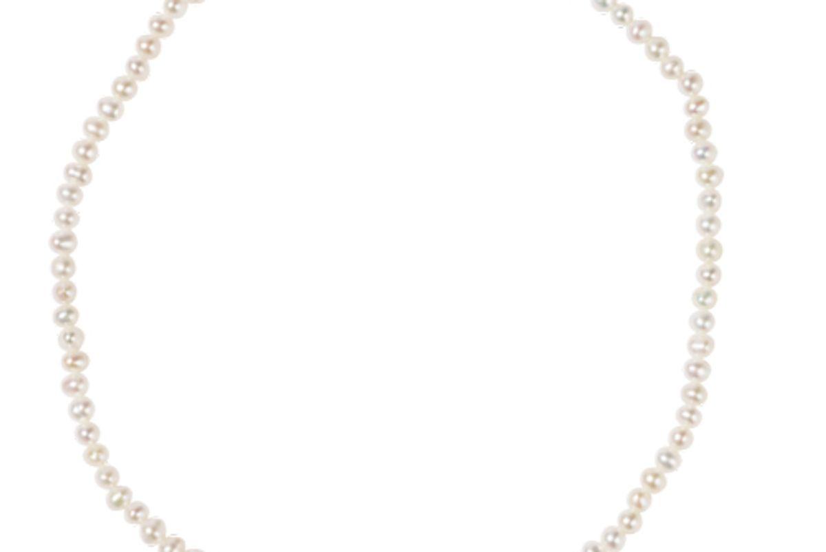 meadowlark micro pearl anklet
