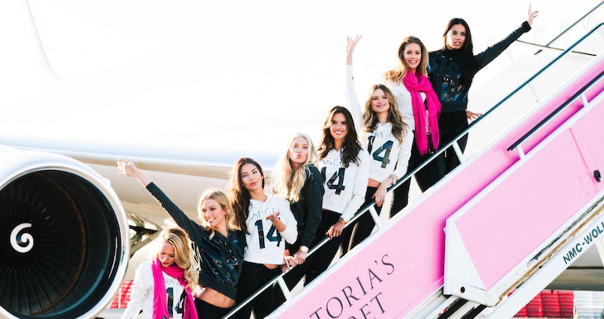 The Victoria's Secret Angels Take Flight