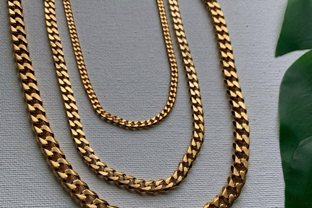 nirvana wild say less cuban link necklace