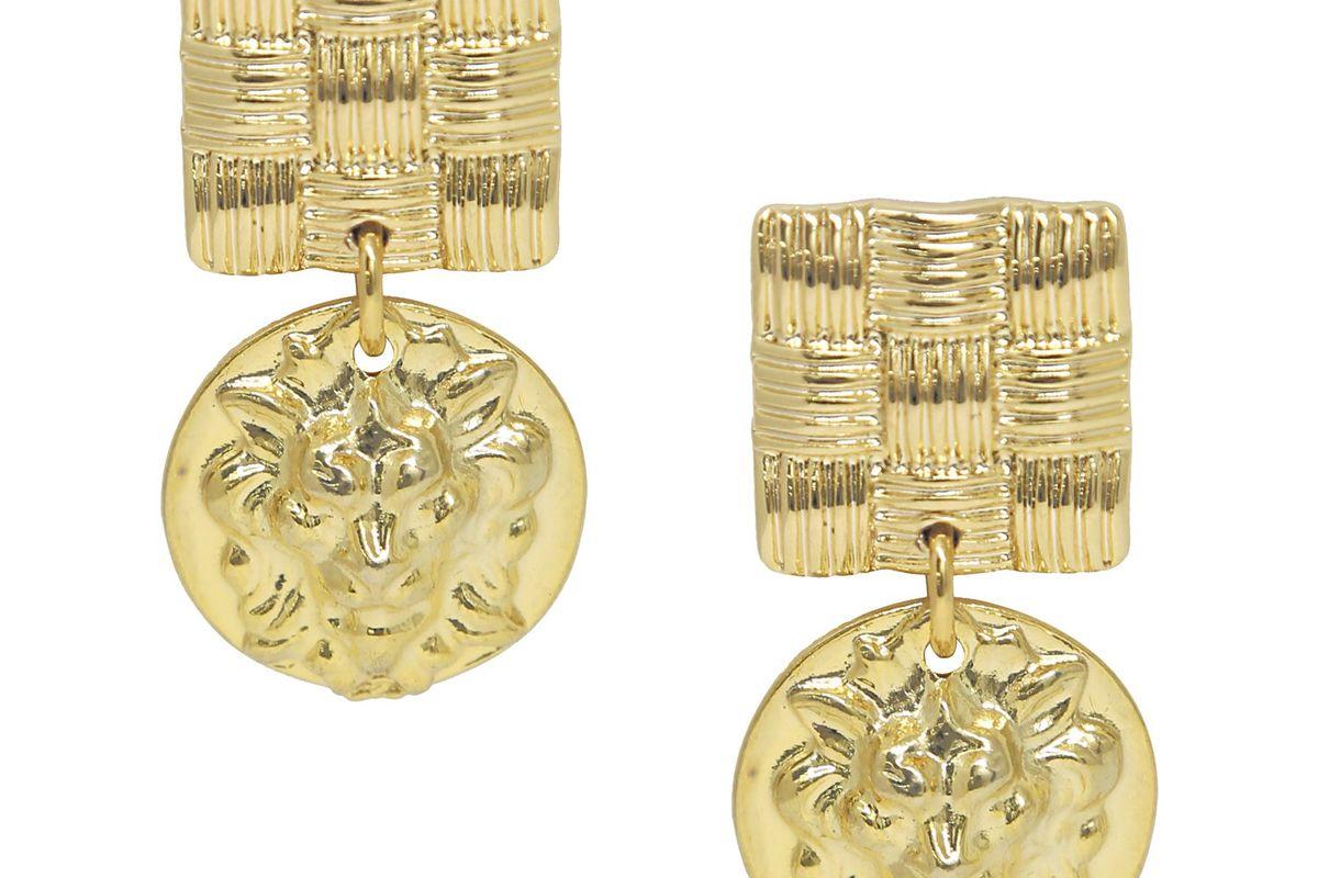 epifene lejonhjarta pendant earrings