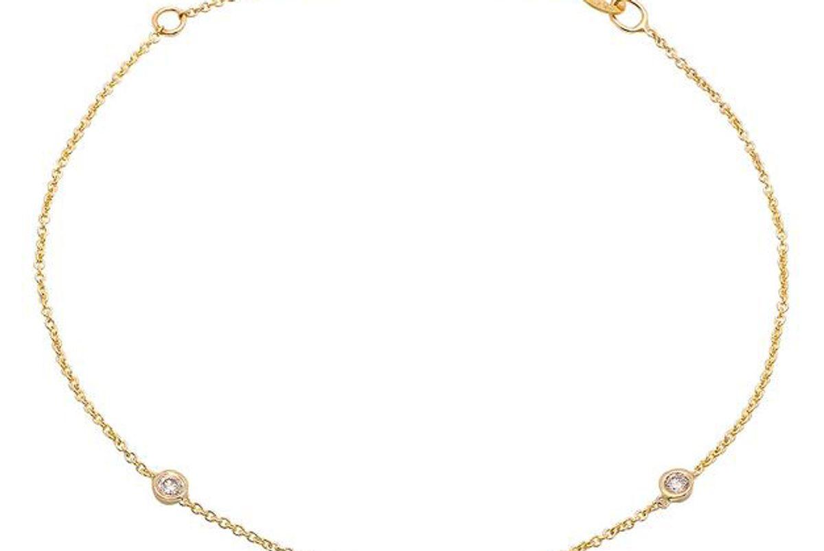 bychari 3 diamond bracelet