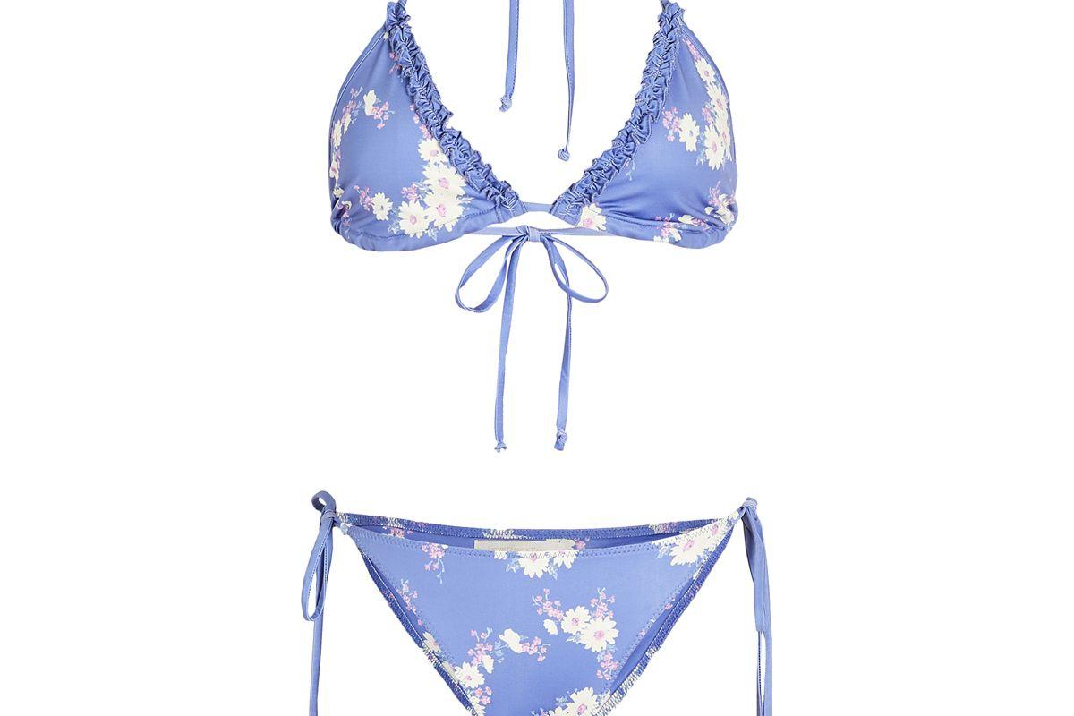 loveshackfancy haror bikini set