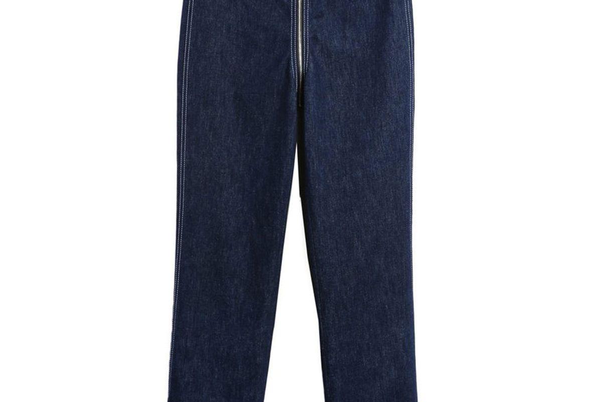 Zip-Through Jeans