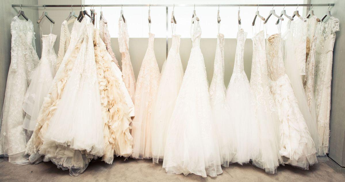 Inside Monique Lhuillier's Insane Wedding Dress Archive