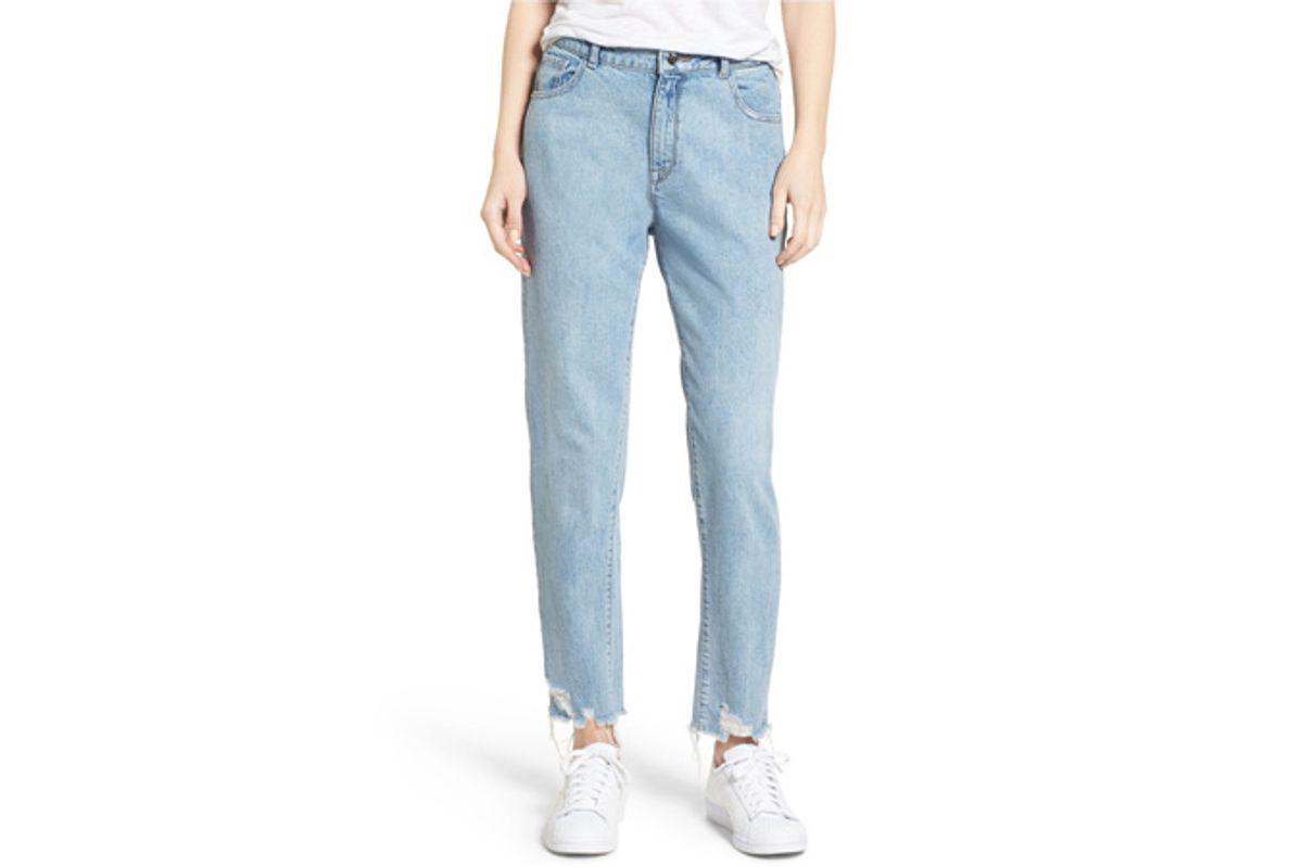 Goldie High Waist Crop Taper Leg Jeans