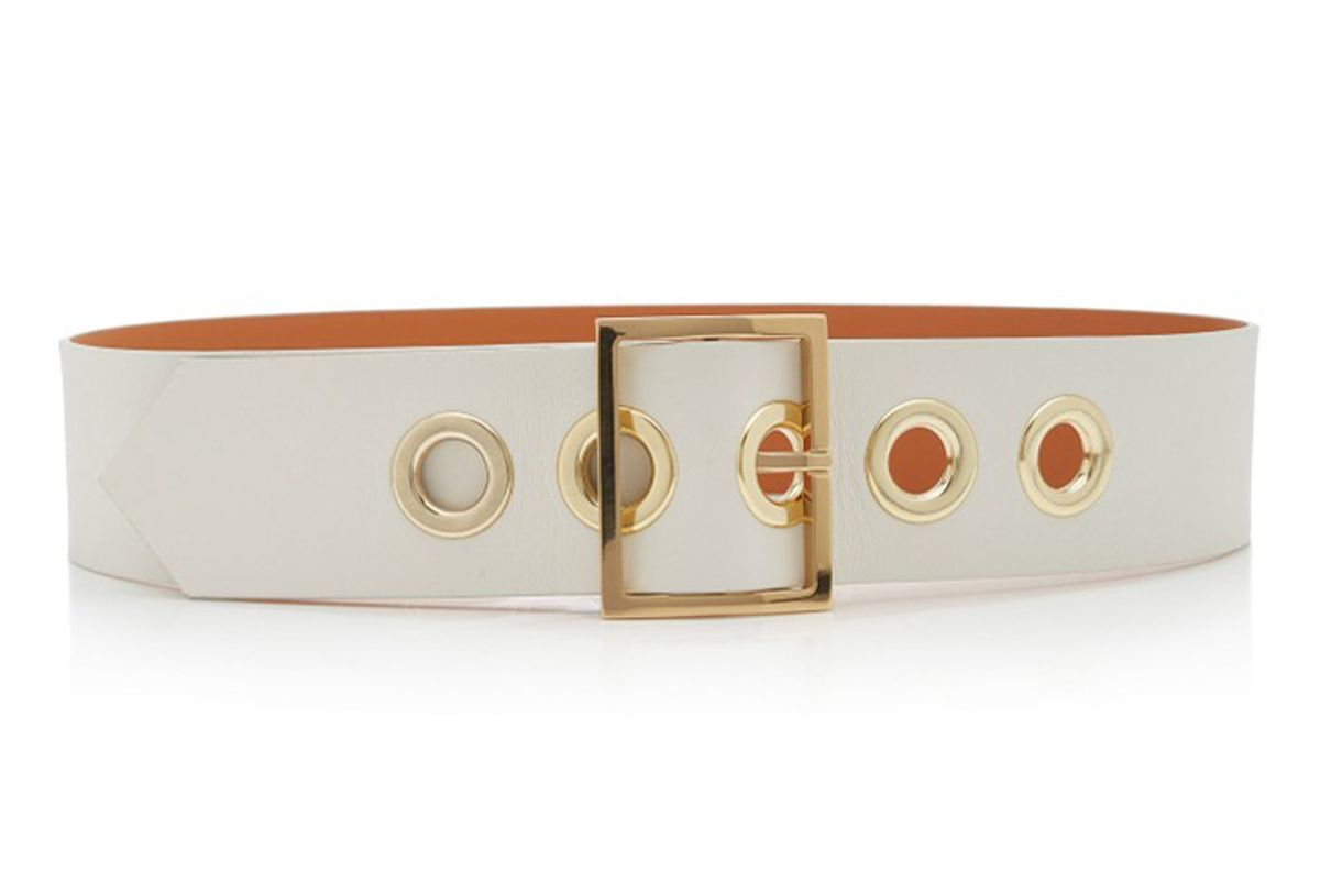 maison boinet nappa leather corset belt