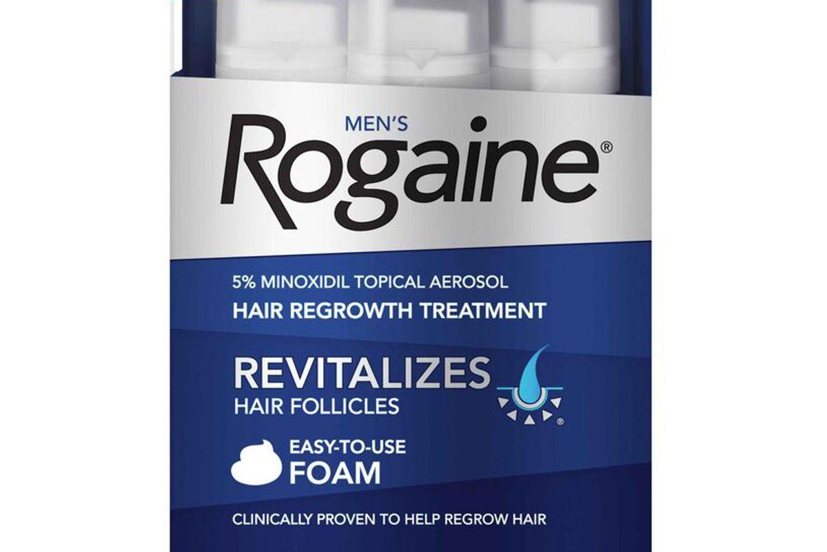 rogaine mens hair regrowth treatment