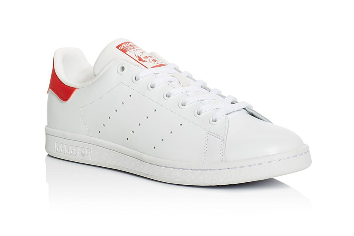 Stan Smith Lace Up Low Top Sneakers